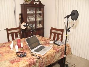 Studion som den såg ut 2005.